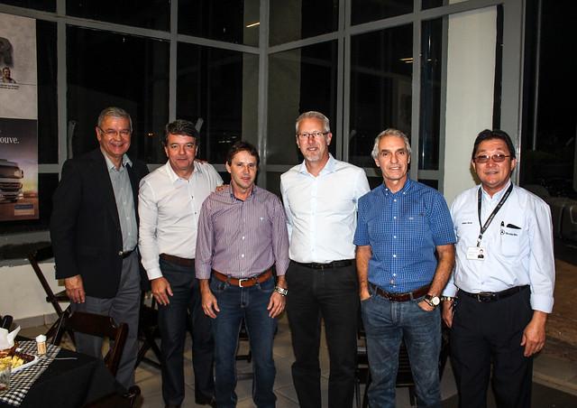 Vice Presidente da Mercedes- Benz Roberto Leoncini visita a Concessionária Irmãos Davoli