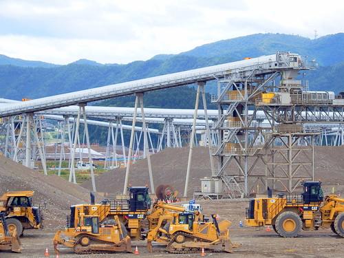 Rikuzentakata Post-earthquake Reconstruction 陸前高田市震災復興事業 ベルトコンベア
