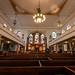 Wesleys Chapel - interior front