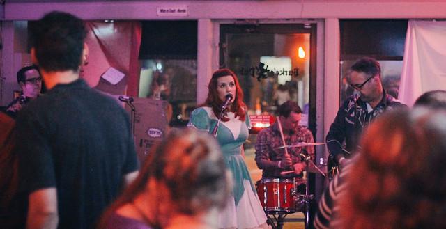 The Electroliners @ Burke's | 9.4.15 | Benson Femme Fest