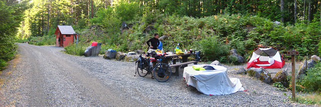 Alice Creek Campsite Pano