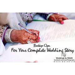 Bookings Open For Your Complete Wedding Story :) #Sialkot  0 3 3 3  8 6 1 9 3 2 0 #sialkotphotographer #sialkotcantt #maan13987 #lahore #suhaagweddingshow #engagement #engaged  #weddinginspiration #weddingphotography #weddingideas #luxurywedding #weddingc