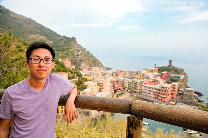 Italy Cinque Terre Hike.