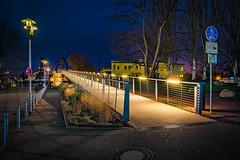 Dreiländerbrücke - Weil am Rhein - am Morgen