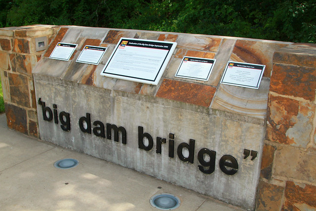 Big Dam Bridge Sign