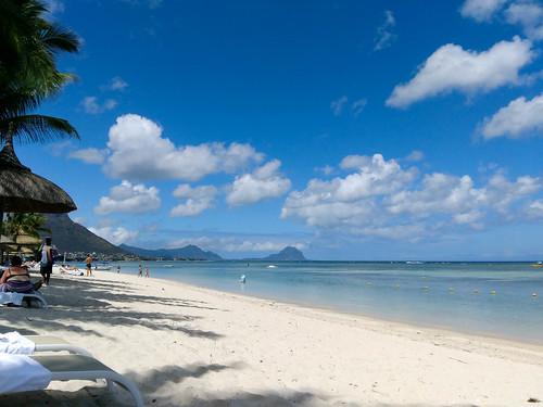 beach mauritius sugarbeach