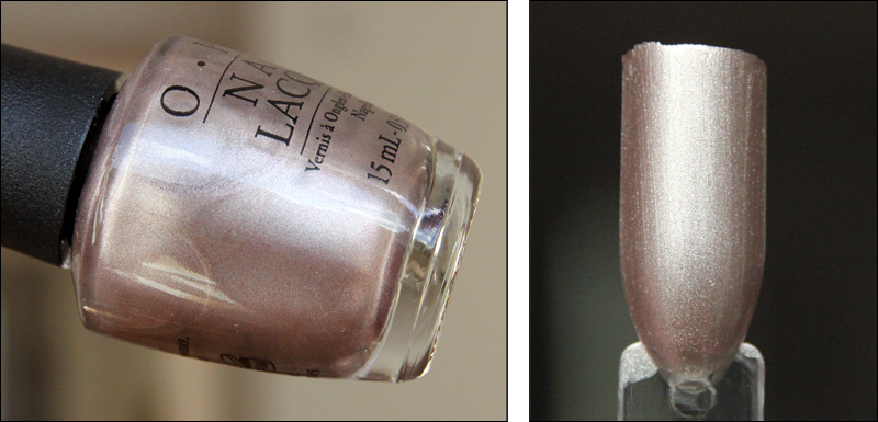 OPI press * for silver swatch