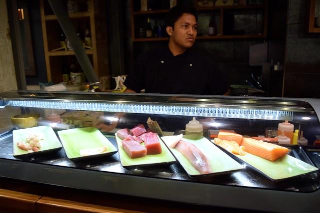 Sushi Station at Murakami, Covent Garden | www.rachelphipps.com @rachelphipps