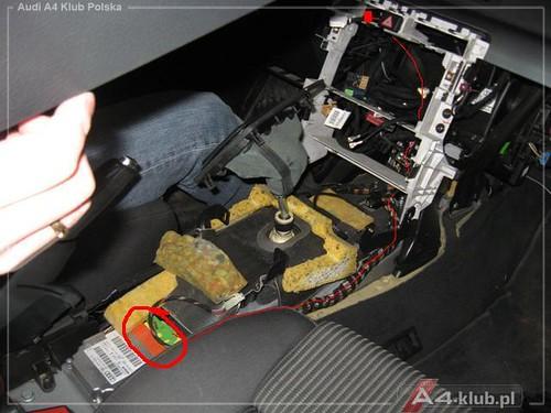 70944 - Instalacja przełącznika deaktywacji poduszki pasażera AIR BAG OFF - 10