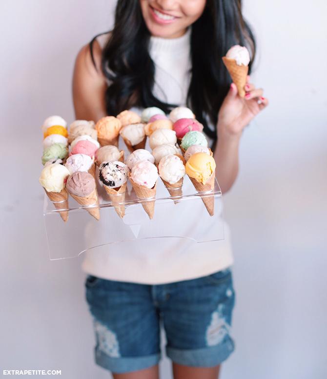 san diego hammonds mini ice cream cones flight