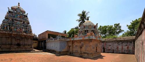10.Perumal and Thayar shrines