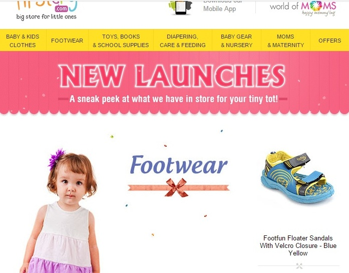 FirstCry offers, coupon codes, discount codes promo codes