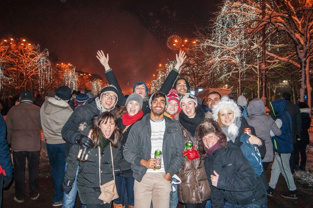 A Romanian New Year's Eve in Bucharest