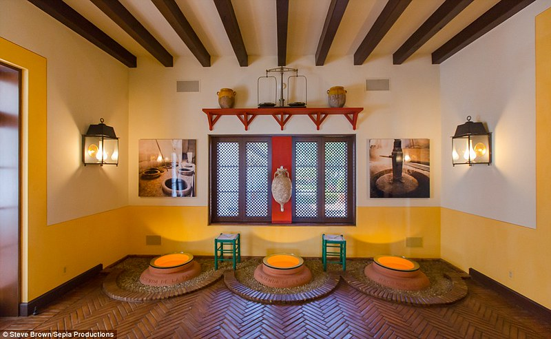 Дизайн виллы Hacienda de la Paz