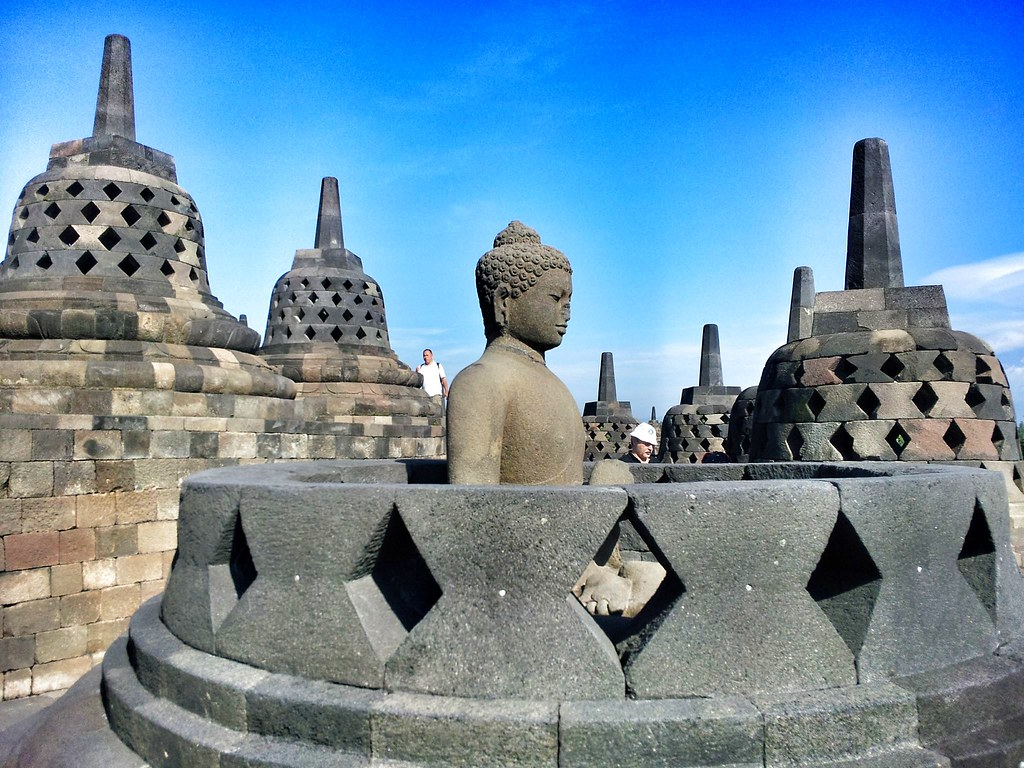 Stupa at Borobudur