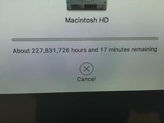 Seventeen minutes????? UNREASONABLE.