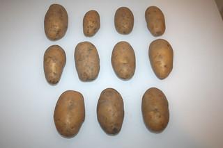 03 - Zutat Kartoffeln / Ingredient potatoes