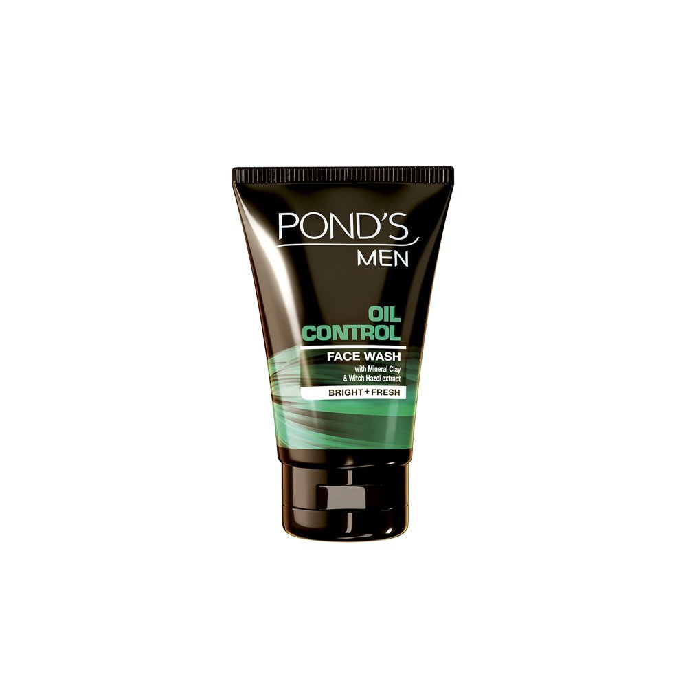 Best Men's Face Wash for oily skin in India - Ponds Men Oil Control Face Wash