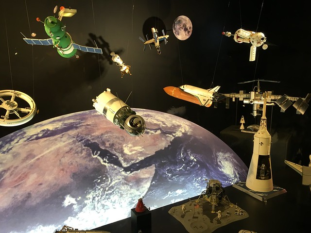 I've been space nerding out at the Science Museum all afternoon. No pics allowed in the Cosmonauts exhibition so here's a load of models instead.
