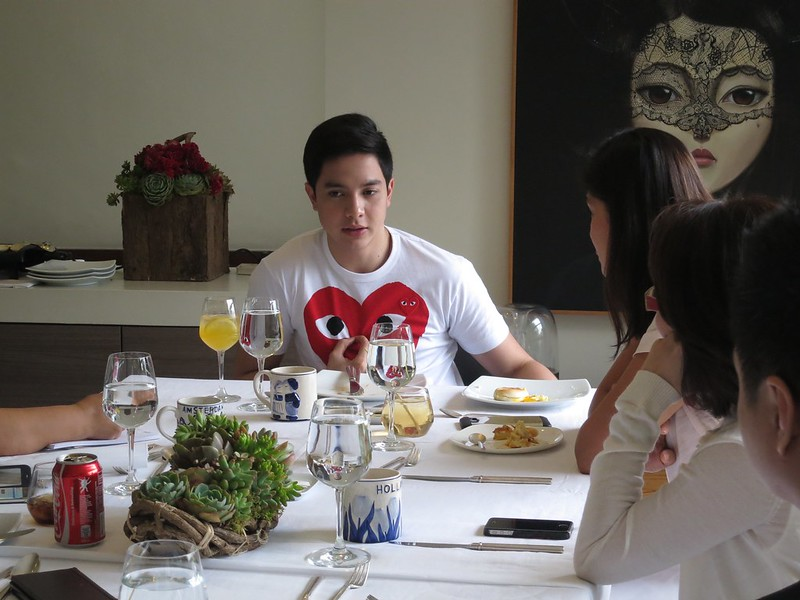 Breakfast with Alden Richards