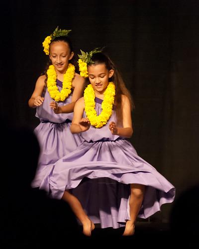 Moku'aina Kaikamahine Auana Group Performance