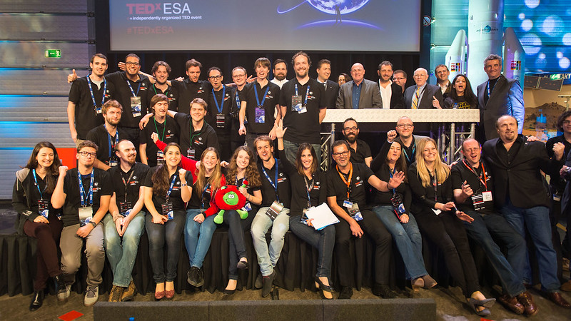 TEDxESA speakers, organisers and volunteers