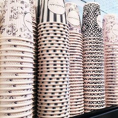 All the pretty cups... @_mamannyc_