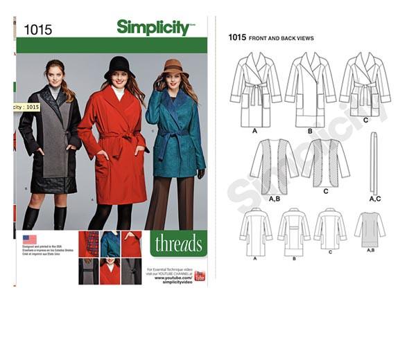 Simplicity 1015