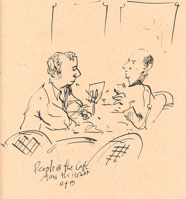 Sketchbook #93: Sketching with a friend
