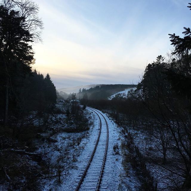 Snow near Dufftown
