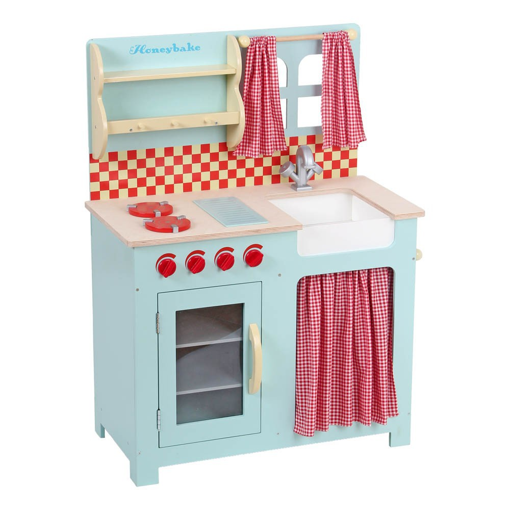 blue play kitchen