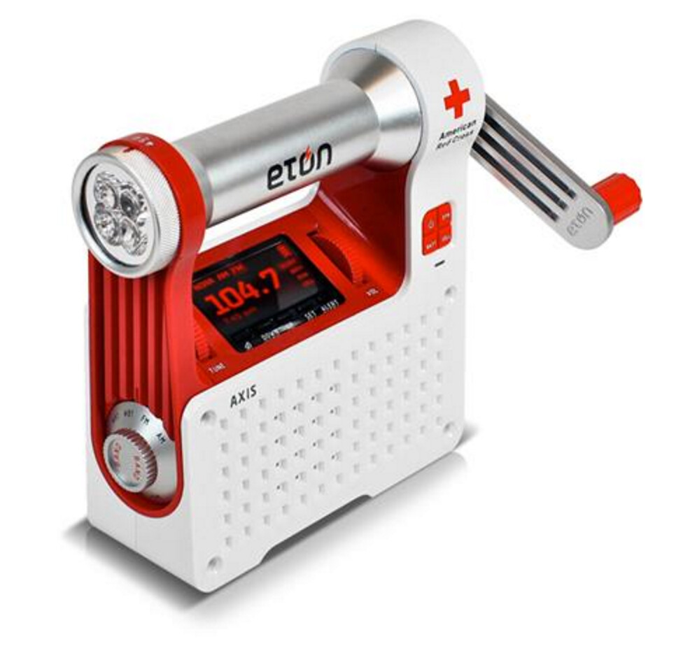 American Red Cross Weather Radio with Alert
