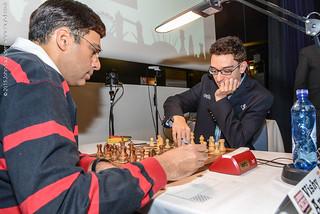 Caruana vs Anand