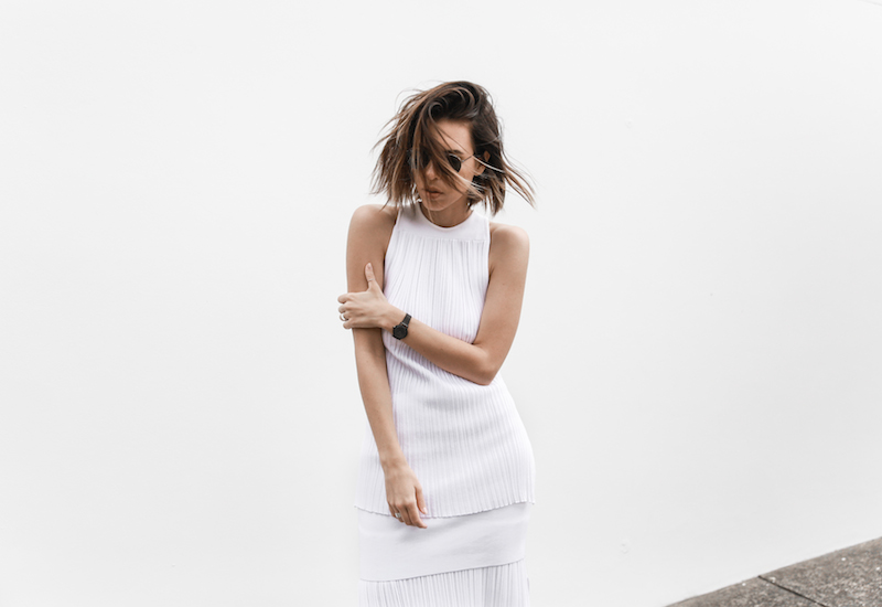 all white street style resort summer josh goot weekend inspo modern legacy (2 of 7)