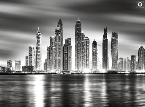 ~ Dubai Marina view from The Palm ~ Explored on 27/10/2016 ~ by Chirag Khatri