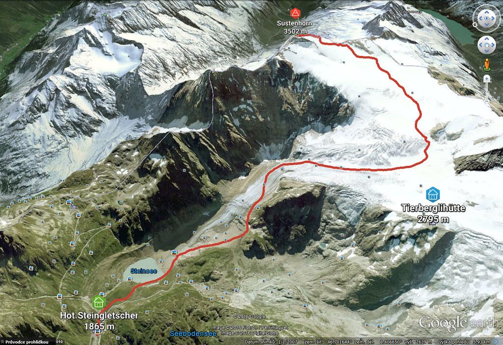 Sustenhorn (day 1, h.r. Swiss Glacier) Urner Alpen Schweiz foto 26