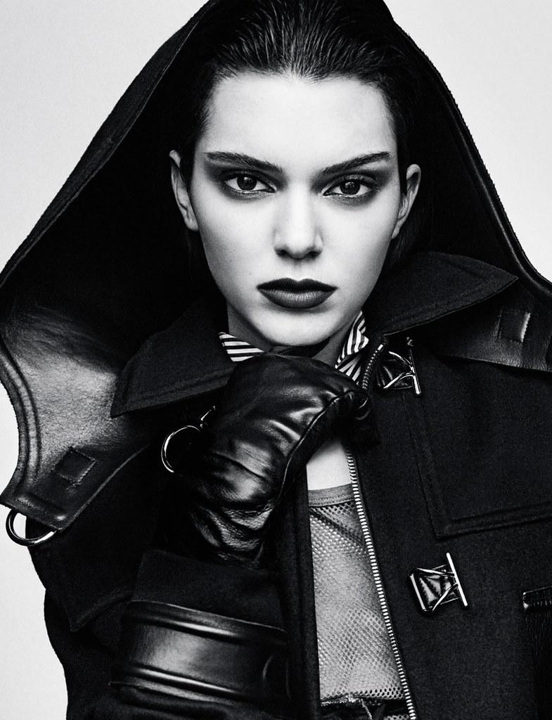 Кендалл Дженнер — Фотосессия для «Vogue» DE 2016 – 4