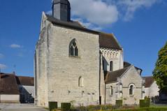 St-Genou (Indre), l'abbatiale