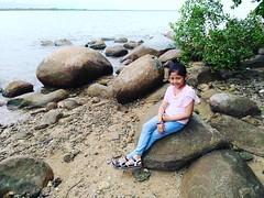 Mbak orlyn di #pulau penibung #mempawah  #zenfone3id #builtforphotography #zpcid @asusid