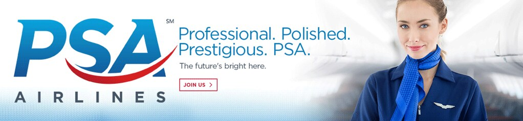 List All PSA Airlines job details and career information