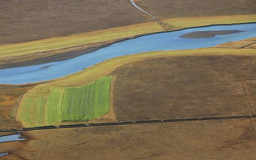 river iceland vatnsdalur vatnsdalsá húnavatnssýsla fields landscape october 2016