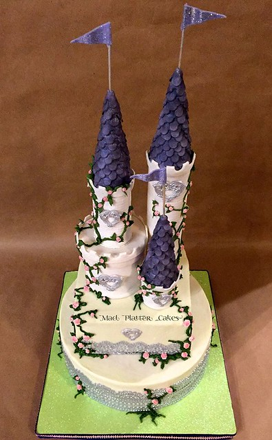 Castle Cake by Mad Platter Cakes