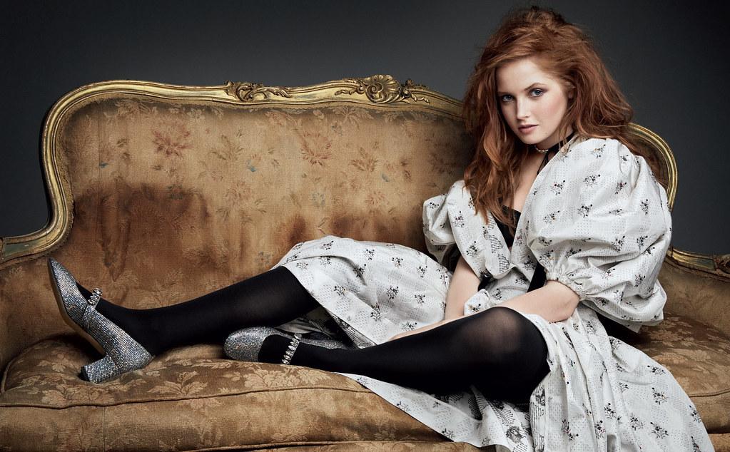 Элли Бамбер — Фотосессия для «Vogue» RU 2016 – 1