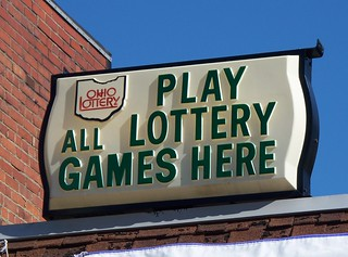 OH Andover - Lottery Sign