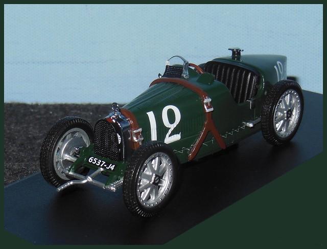 BUGATTI Type 35B - 1929 GP Monaco - 1/43