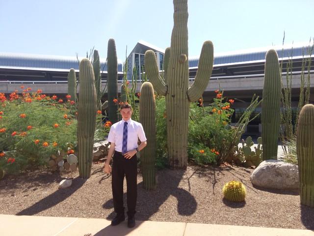 Outside Tucson International