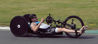 Phil Hogg F2M / SALTO Wheelchair Athlete