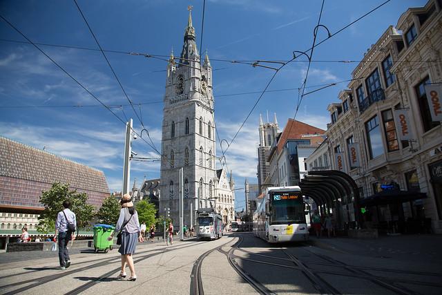 Gent Belgium #ユーレイル