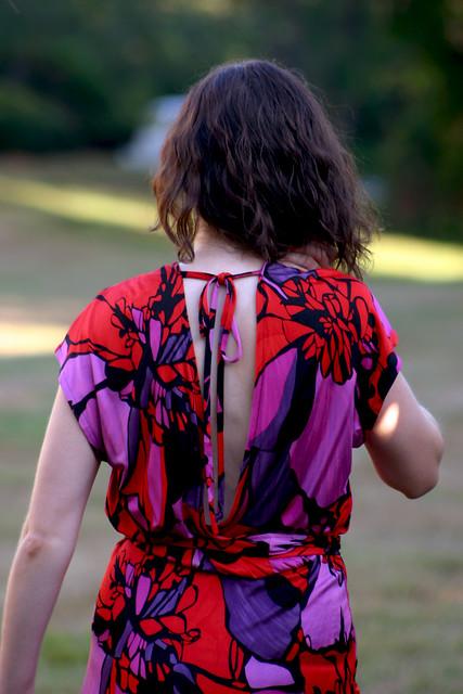silk tieback dress 4