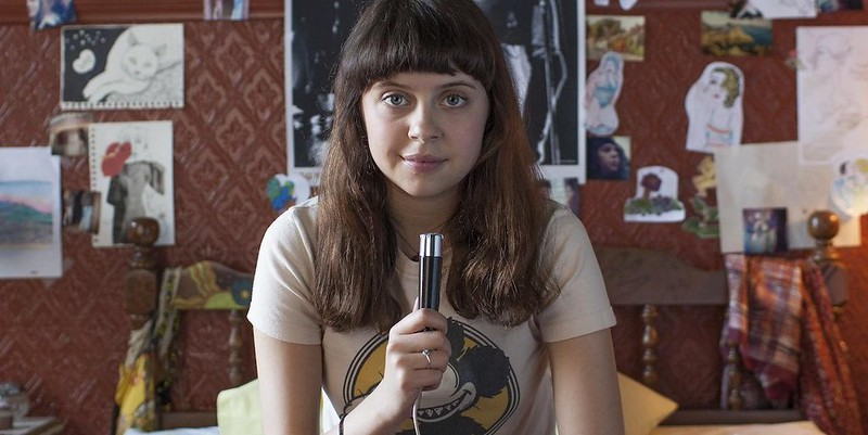 Bel Powley has a pseudo-creepy sexual awakening in THE DIARY OF A TEENAGE GIRL.